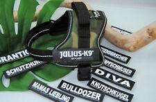 Julius-K9 Powergeschirr TARN Gr.Mini-Mini inklusive 1 Paar Logos zur Auswahl