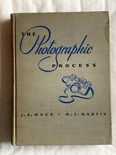 The Photographic Process, Vintage Book, 1939, 1st Ed Hardback Book