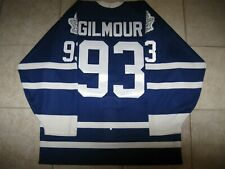 #93 Doug GILMOUR Toronto MAPLE LEAFS Authentic ON-ICE CCM Jersey, Size Men's 48