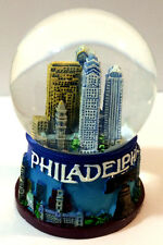 Philadelphia Phily Snow Globe 2.5 Inch (45mm) with Liberty Bell Skylines