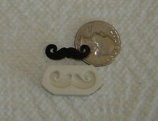 Handmade Mustache Polymer Clay Push Mold Jewelry Making DIY
