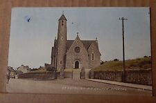 Postcard St Patricks Church Donegal Early Colour card posted