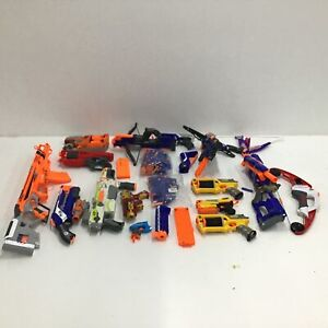 Assorted Bulk Nerf Toys Untested Parts Only & Accessories #974