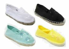 Flat (less than 0.5') Unbranded Textile Shoes for Women