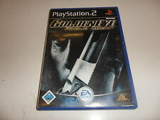 PlayStation 2  PS 2  Golden Eye: Rogue Agent