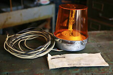 Edwards 52A-N5 Adaptabeacon Light Signal Security Lamp 120V Amber Police Fire