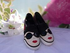 Alice And Olivia Stacey Face Sneaker Size 36.5  $295