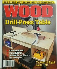 Wood October 2016 Drill Press Table Choose Right Router Lift FREE SHIPPING sb