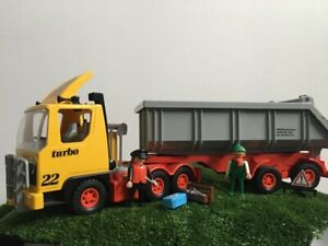 playmobil 3141 Dump truck Mammut turbo