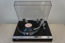 SONY PS-X75 2- SPEED,DIRECT DRIVE TURNTABLE-BENCH CHECKED,SERVICED,FULLY TESTED