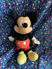 """New listing Disney Baby Mickey Mouse 13"""" Rattle Plush Stuffed Toy"""