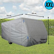 XXL Wohnwagen Wetter Schutz Plane Reißverschlüsse Caravan Abdeckung imprägniert