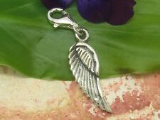 Charms 925 Sterling Silber Anhänger Engelflügel Engel Flügel Bettelarmband