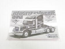NEW TAMIYA KNIGHT HAULER 1/14  Manual TT0