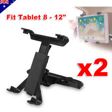 2x Universal Car Mount Seat Headrest for iPad Samsung Tablet Stand Holder 8-12""
