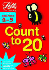 """NEW"" Count to 20 Age 4-5 (Letts Fun Learning) (Letts Fun Farmyard Learning), Va"