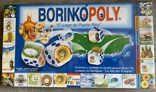Borinkopoly Board Game Puerto Rico Trivia History Traditions Points of Interest