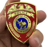 DL10-09 LI Suffolk County Police Department Long island Dept. Challenge Coin thi