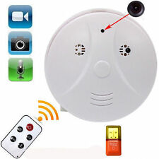 Wireless HD 1080P Spy Smoke Detector Hidden Camera Motion Detect DVR Camra SGW