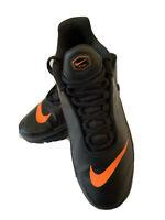 Authentic Nike Air Max TN Se Mercurial Black Orange Silver AR0005-001 SZ 7Y