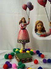 """Mint! 2006 Jim Shore """"I Love You"""" Girl with Balloons #4007237"""