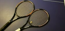 Two Matching Prince O3 Ozone Pro Tour MP Rackets Great Condition Strung 4 1/4