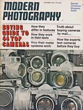 Modern Photography Magazine December 1966 , 44 Top Cameras Rolleifix Voigtlander