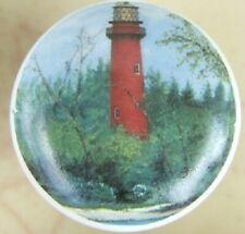 Ceramic knob Light House Lighthouse Jupiter Point FL