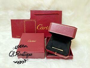 Cartier Authentic Love Bracelet Box,Screwdriver,Gift Bag &Certificate Holder