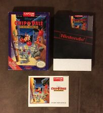 Chip N Dale Rescue Rangers Nintendo Nes ~ Complete In Box w Manual! ~ Very Good!