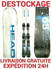 ski occasion enfant HEAD tailles:87cm/97cm/117cm/127cm/137cm + fixations