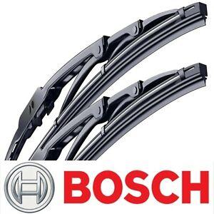 2 pcs Wiper Blades Bosch Direct Connect for 1989-1991 Chrysler TC Maserati Set
