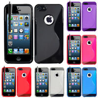 Accessoire Housse Etui Coque TPU Silicone Gel Motif S-Line Seri Apple iPhone