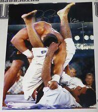 Kimo Leopoldo & Royce Gracie Signed UFC 3 16x20 Photo PSA/DNA COA Picture Auto'd