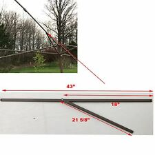 Ozark Trail 13' x 13' Straight Leg Canopy/Gazebo 2 PEAK TRUSS Bars Parts