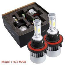 2x 72W 16000LM H13 9008 COB LED Headlight Kit 6500K White Car Bulbs Lamps Light