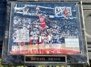 Michael Jordan 13,514/23,000 Photo Jordan's Upper Deck Photo File 1988 Slam Dunk
