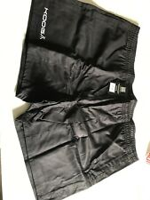 KOOGA Rugby Black Heavy Cotton Shorts, Size  5xl