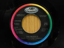 Motels 45 Suddenly Last Summer bw Some Things Never Change on Capitol