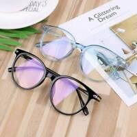 Unisex Optical Glasses Blue Light Blocking Glasses Anti Glare UV Eyeglasses - UK