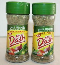 Mrs Dash Spicy Jalapeno SALT FREE Seasoning Blend 2 Pack NEW 2.5 oz each