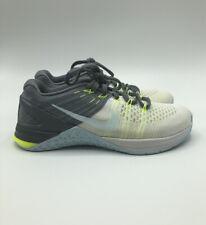 Nike WMNS Metcon DSX Flyknit 849809-100 White/Blue Women's Training Shoes Sz 6.5