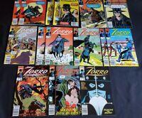 ZORRO (1990) LOT 1x2 2x2 4 5 6 7x2 8 9x2 10 11 12 ~MANY DOUBLES ALMOST FULL RUN!