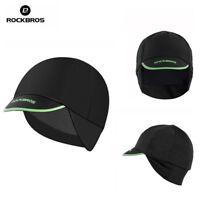ROCKBROS Cycling Caps Men's Winter Thermal Fleece Outdoor Sports Earmuffs Caps