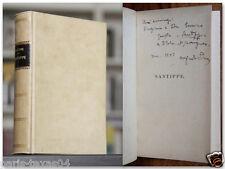 Alfredo Panzini SANTIPPE Autografato 1921 Treves