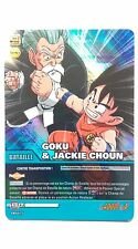 Carte Dragon ball Z Goku & Jackie Choun DB-677 Brillante / HOLO