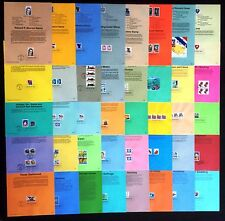 1994, 1995, First Day Souvenir Page Selection, 40 pages Soccer Marilyn
