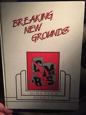 Crystal River Middle School FL Florida Yearbook 1990 Breaking New Grounds