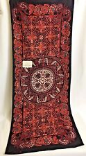 Indonesia Batik PLENTONG Fabric Ethnic Home Decor Wall Hang Hand Print Tapestry