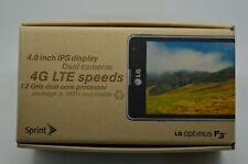 LG Optimus F3 LS720 - 4GB - Titanium Silver (Sprint) Smartphone